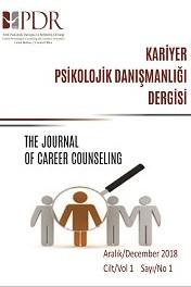 Kariyer Psikolojik Danışmanlığı Dergisi-Asos İndeks