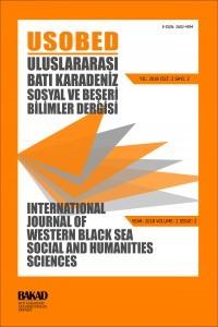 Uluslararası Batı Karadeniz Sosyal ve Beşeri Bilimler Dergisi-Asos İndeks