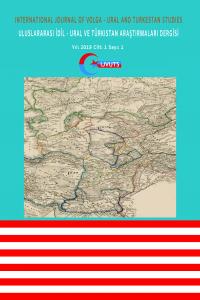 Uluslararası İdil - Ural ve Türkistan Araştırmaları Dergisi-Asos İndeks