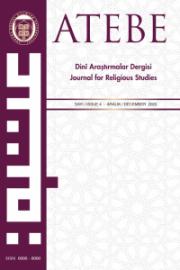 ATEBE Dinî Araştırmalar Dergisi-Asos İndeks