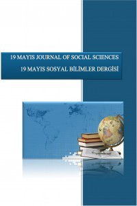 19 Mayıs Sosyal Bilimler Dergisi-Asos İndeks