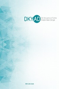 Dil Konuşma ve Yutma Araştırmaları Dergisi