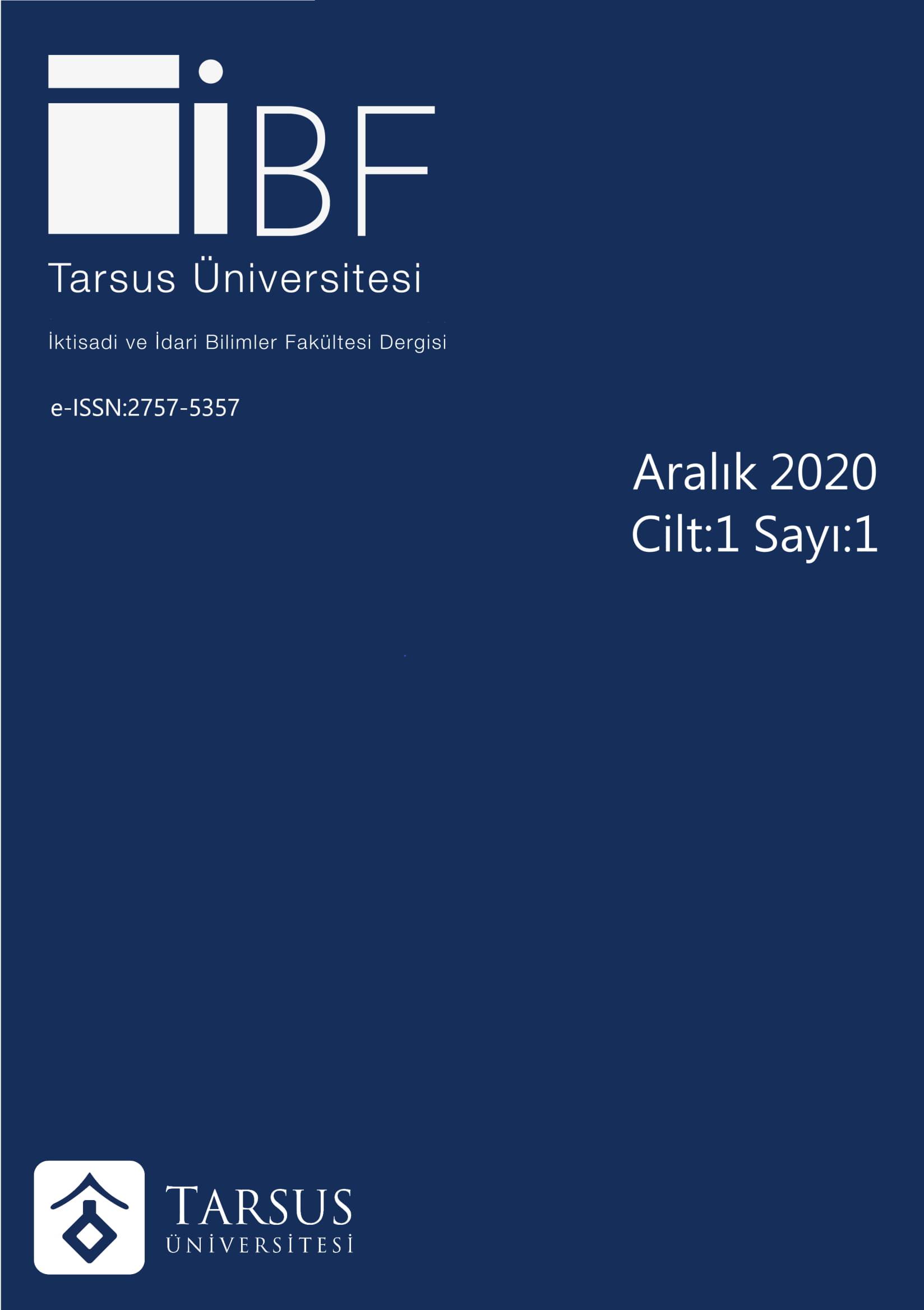 Tarsus Üniversitesi İktisadi ve İdari Bilimler Fakültesi Dergisi-Asos İndeks