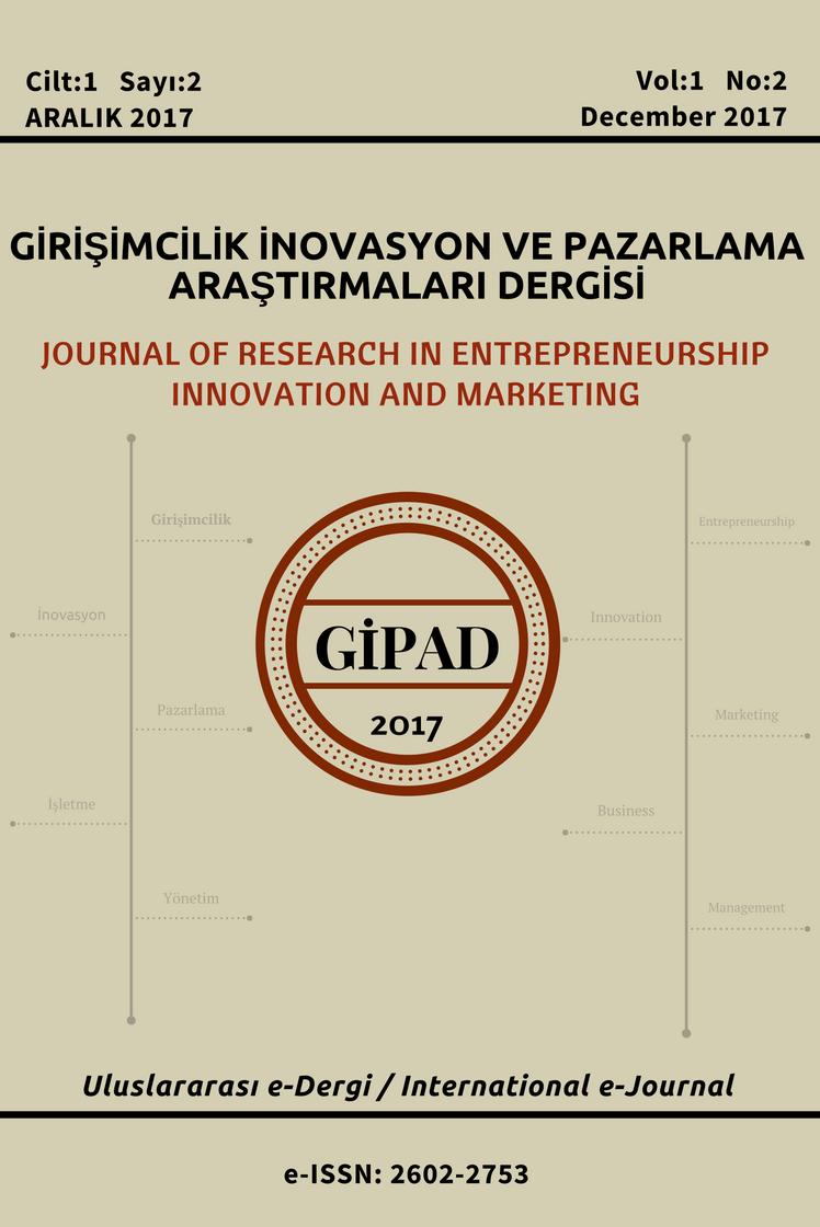Girişimcilik İnovasyon ve Pazarlama Araştırmaları Dergisi-Asos İndeks