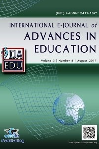 International E-Journal of Advances in Education-Asos İndeks