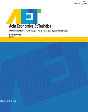 Acta Economica Et Turistica-Asos İndeks