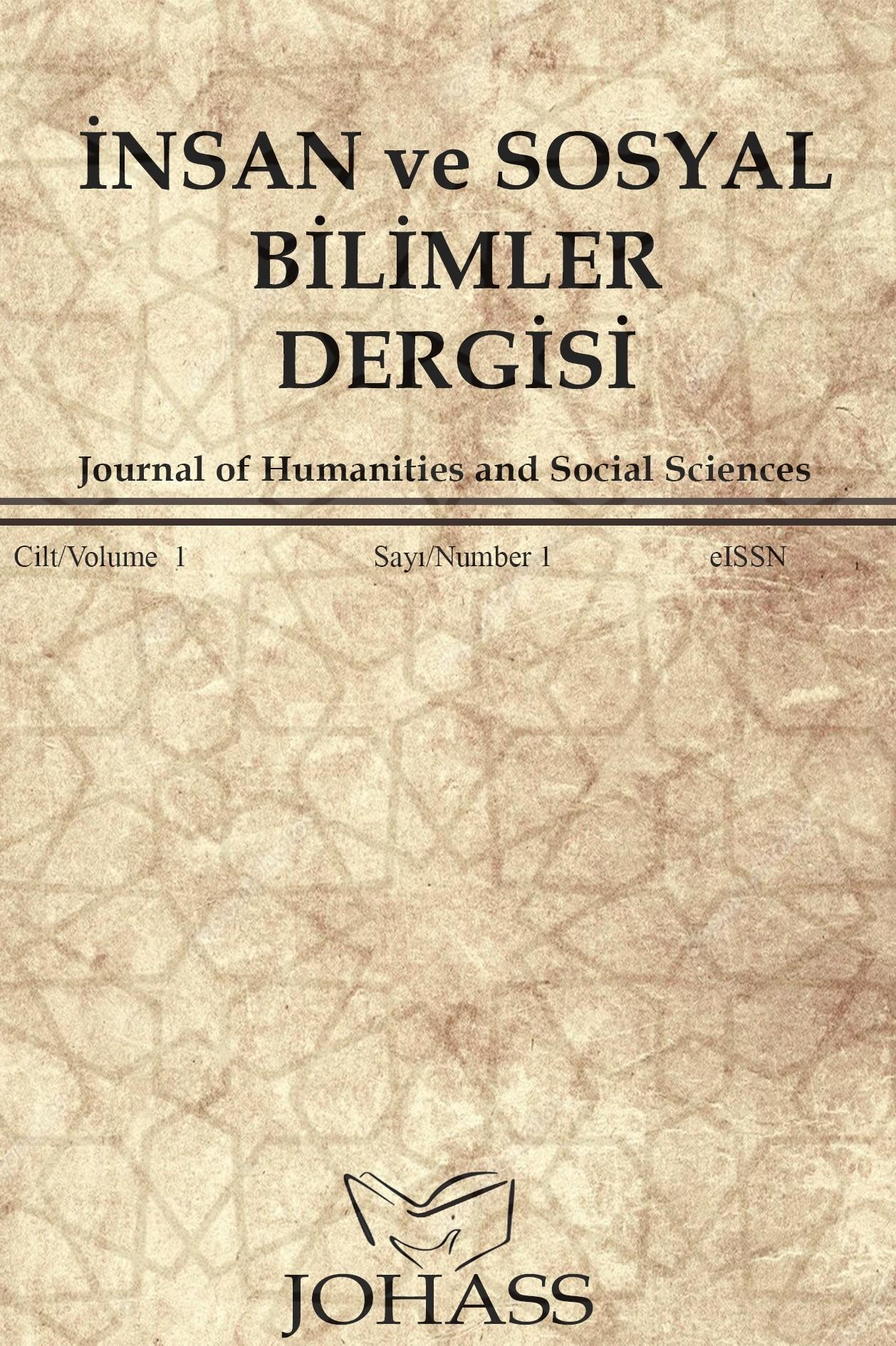 İnsan ve Sosyal Bilimler Dergisi-Asos İndeks