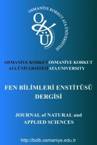 Osmaniye Korkut Ata Üniversitesi Fen Bilimleri Enstitüsü Dergisi-Asos İndeks