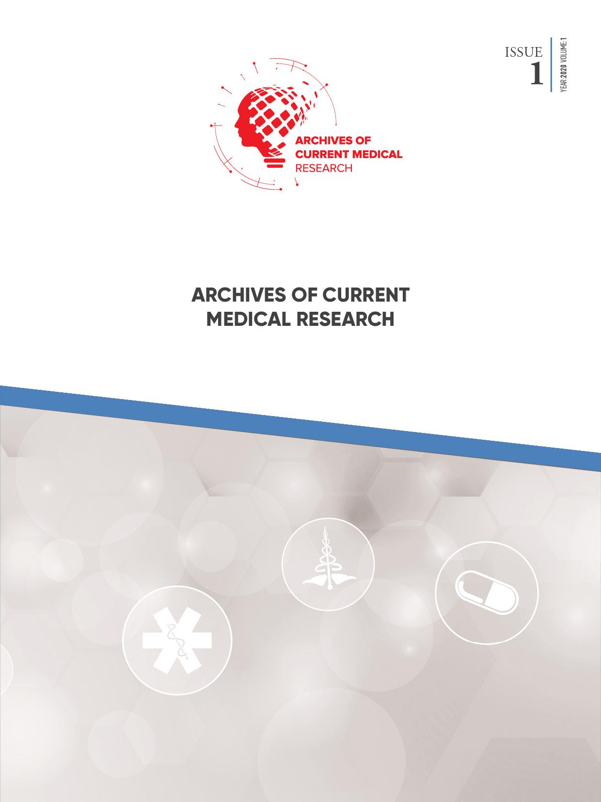 Archives of Current Medical Research-Asos İndeks