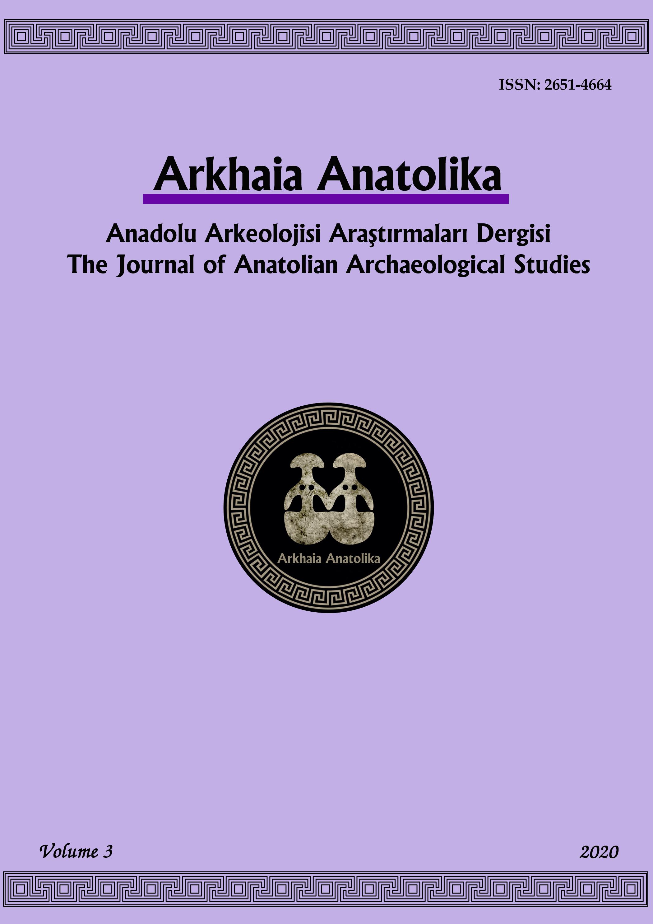 Arkhaia Anatolika Anadolu Arkeolojisi Araştırmaları Dergisi-Asos İndeks