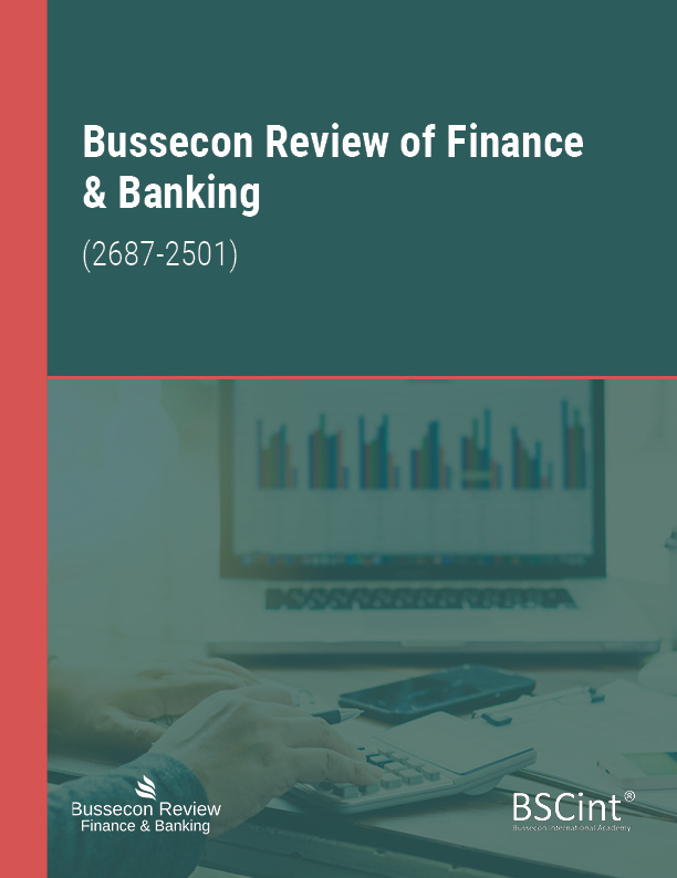 Bussecon Review of Finance & Banking-Asos İndeks