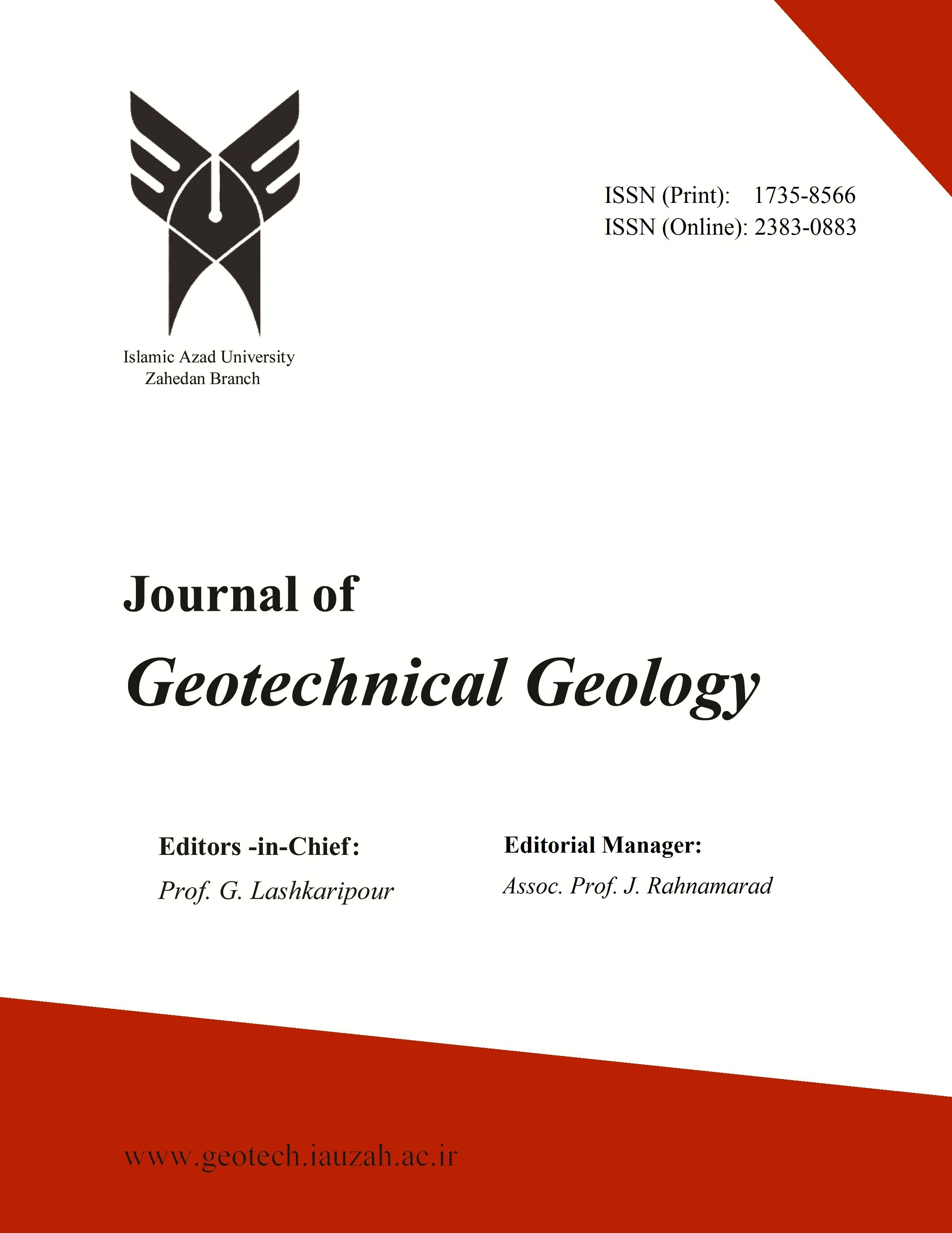 Journal of Geotechnical Geology-Asos İndeks