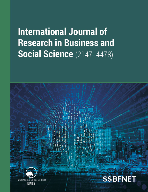International Journal of Research in Business and Social Science-Asos İndeks