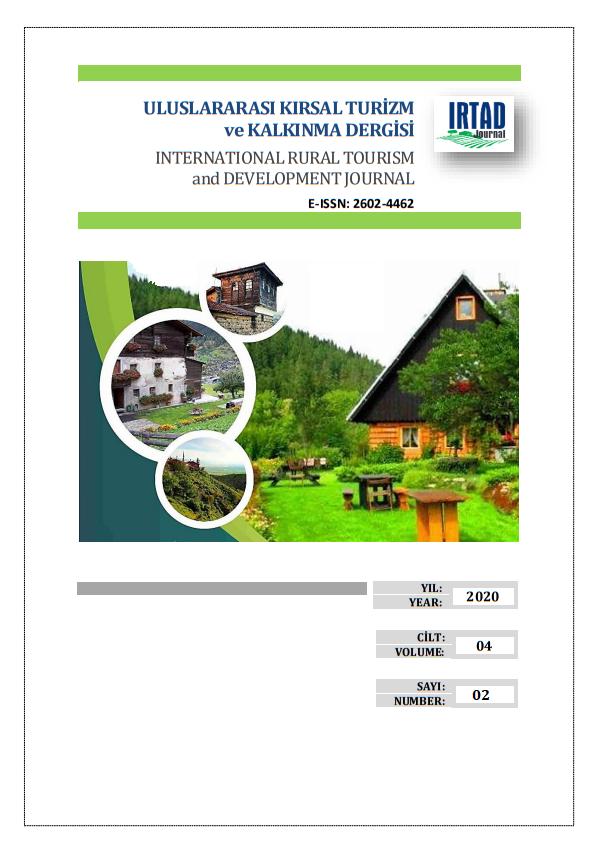 Uluslararası Kırsal Turizm ve Kalkınma Dergisi-Asos İndeks