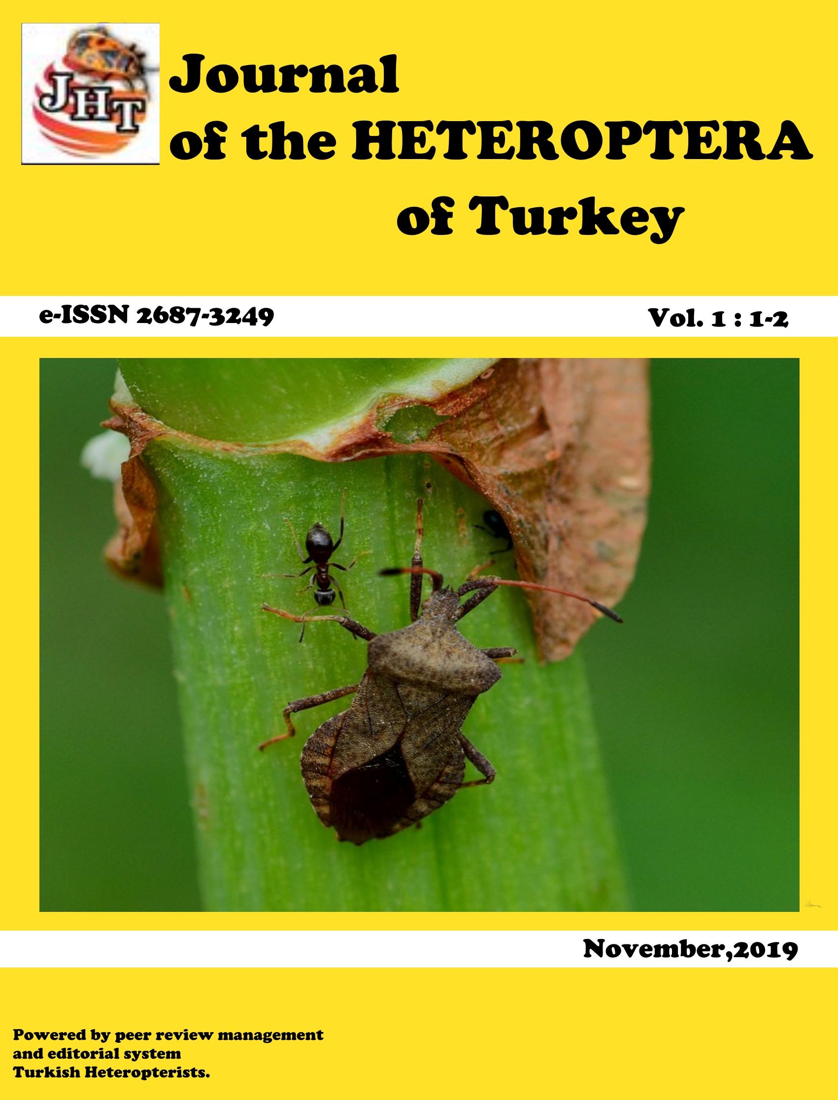 Türkiye Heteroptera Dergisi-Asos İndeks
