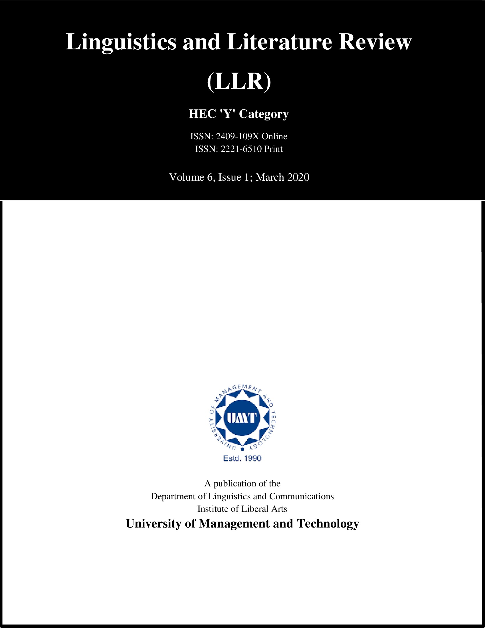 Linguistics and Literature Review-Asos İndeks