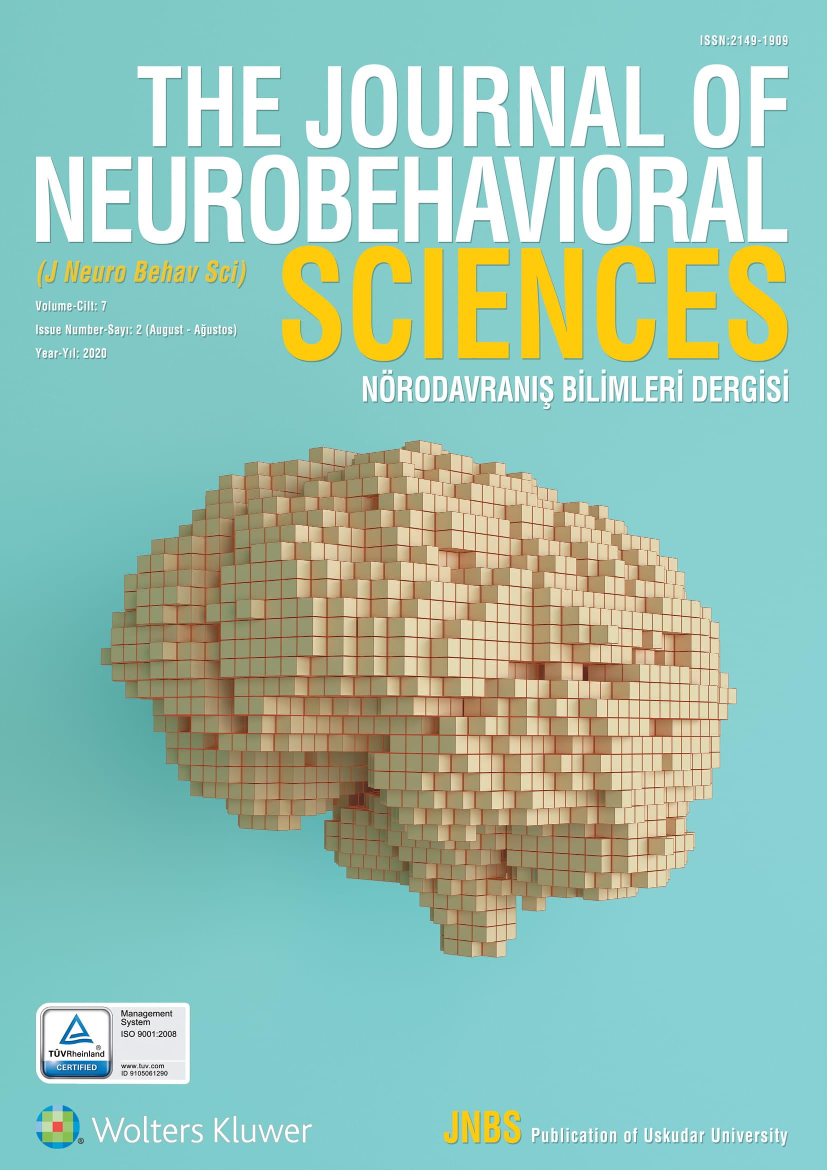 The Journal of Neurobehavioral Sciences-Asos İndeks