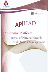 Academic Platform Journal of Natural Hazards and Disaster Management-Asos İndeks