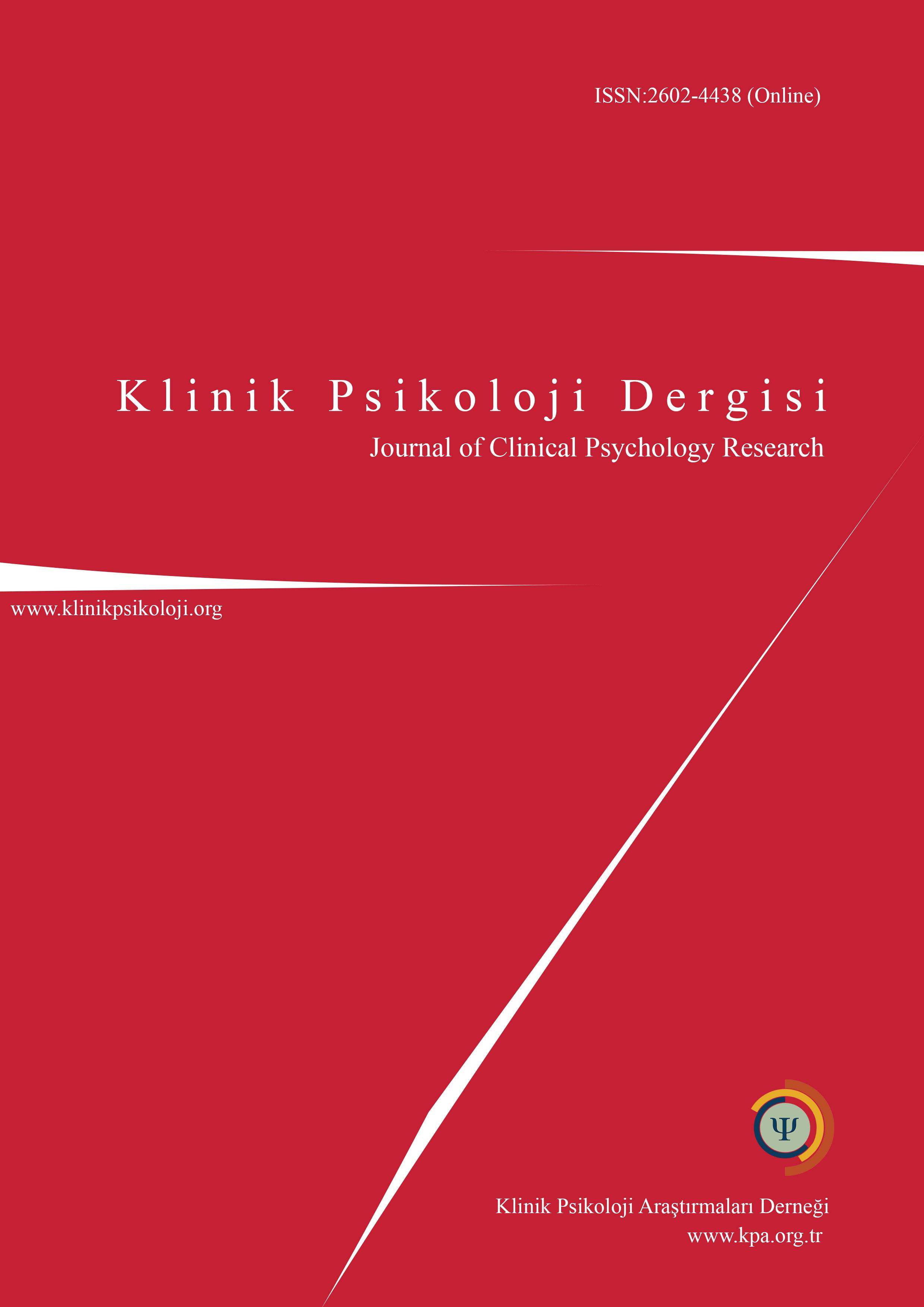 Klinik Psikoloji Dergisi-Asos İndeks