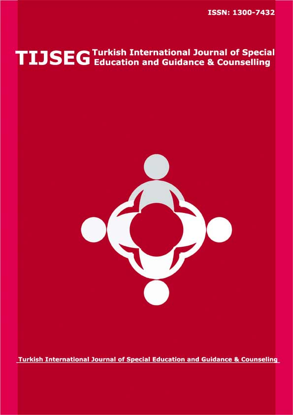 Turkish International Journal of Special Education and Guidance & Counselling-Asos İndeks